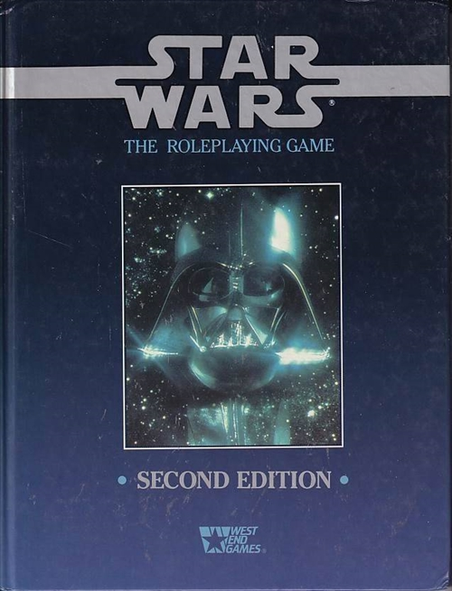 Star Wars D6 - The Roleplaying Game 2nd Edition (Genbrug)